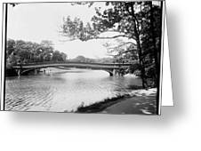 Central Park The Lake Greeting Card