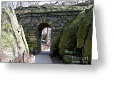 Central Park Underpass Greeting Card