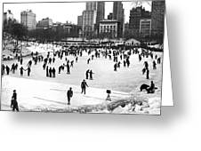 Central Park Winter Carnival Greeting Card