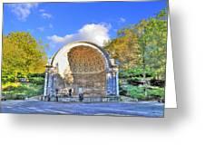 Central Park's Naumburg Bandshell Greeting Card