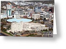 Century II Convention Hall And Downtown Wichita Greeting Card