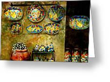 Ceramica Italiana Greeting Card