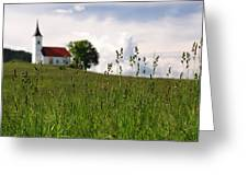 Cerkev Sv Janeza Evangelista Greeting Card
