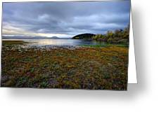 Cerknica Lake Greeting Card