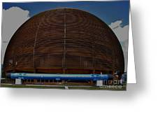 Cern Dome Greeting Card