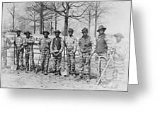 Chain Gang C. 1885 Greeting Card by Daniel Hagerman