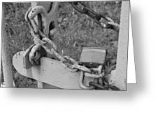 Chained Soul Greeting Card