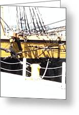 Chains Ropes And Cables Greeting Card