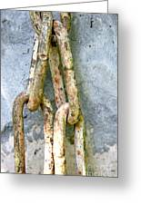 Chains Time Greeting Card