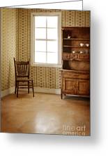 Chair And Cupboard Greeting Card