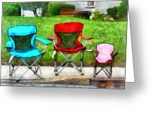Chair Family Greeting Card