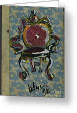 Chair Fetish '98 Greeting Card by Cathy Peterson