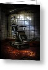 Chair Of Horror Greeting Card