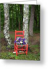 Chair Of The Grand Elf Greeting Card