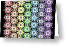 Chakra Healing Grid Greeting Card