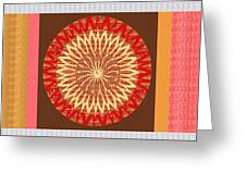 Chakra Mandala With Crystal Stone Healing Energy Plates By Side  Navinjoshi Rights Managed Images Fo Greeting Card