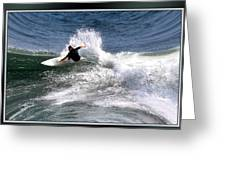 Challenge Yourself-surf Greeting Card