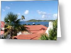 Chalotte Amalie Bay Greeting Card