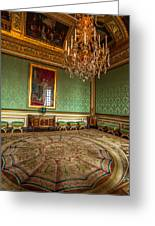 Chamber Of Versailles Greeting Card