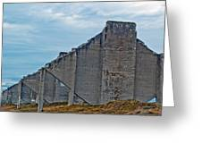 Chambers Bay Architectural Ruins Greeting Card