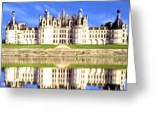 Chambord Castle Greeting Card