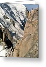 Chamonix Aiguilles, French Alps Greeting Card