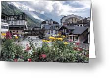 Chamonix Greeting Card