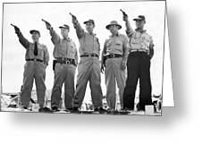 Champion Police Shooters Greeting Card