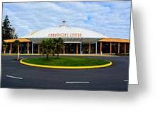 Champions Center Greeting Card