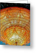 Chandelier 1 Greeting Card