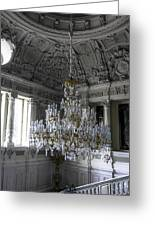 Chandelier - Yusupov Palace - Russia Greeting Card