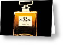 Chanel No. 5 Greeting Card