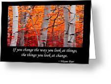Change Greeting Card