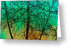Change Of Seasons Number Tw0 Greeting Card