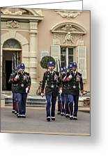 Changing Of The Guard Greeting Card