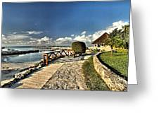 Chankanaab Walkway Greeting Card
