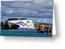 Channel Islands Ferry Greeting Card