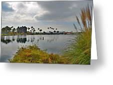Channel View Greeting Card