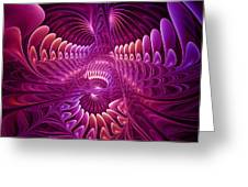 Chaos And Order Greeting Card