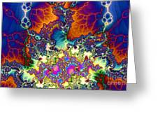 Chaos Of Unrealized Ideas Greeting Card