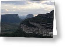 Chapada Diamantina Landscape 2 Greeting Card