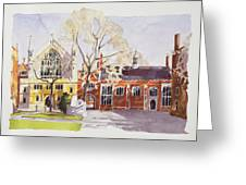 Chapel And Hall  Lincoln's Inn Greeting Card
