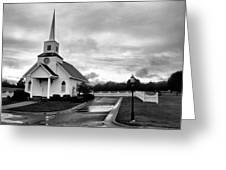 Chapel At Four Winds In Conway Arkansas Greeting Card