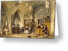 Chapel At Haddon Hall, Derbyshire Greeting Card