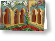 Chapel At St. Remy Greeting Card