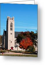 Chapel At The College Of The Ozarks Greeting Card