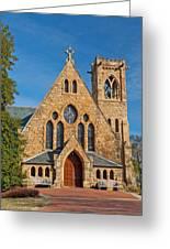 Chapel At Uva Greeting Card