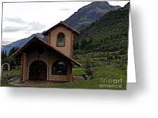 Chapel In The Cajas Greeting Card