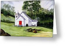 Chapel In The Mounts Greeting Card