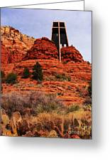 Chapel Of The Holy Cross 3 Greeting Card